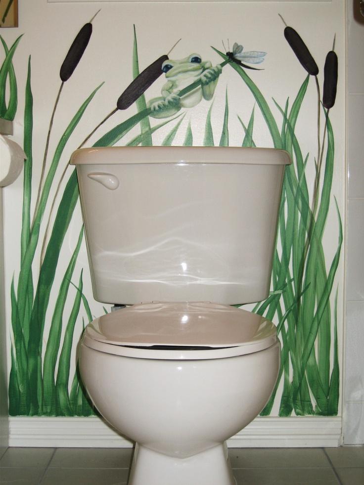 190 best trompe l 39 oeil images on pinterest - Trompe l oeil toilette ...