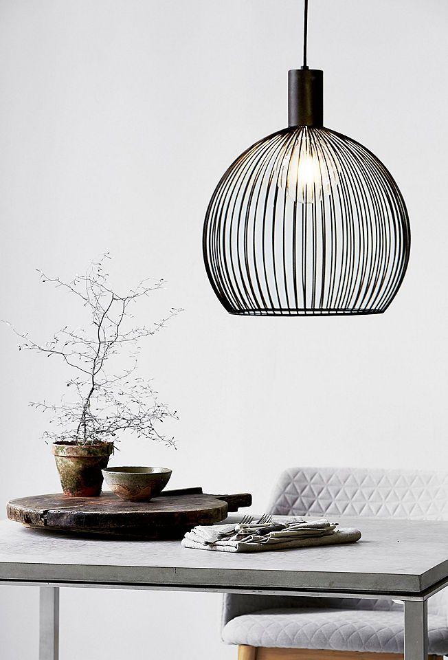 Nordlux Pendelleuchte Aver 40 Online Kaufen Baur Wohnzimmerlampe Schwarze Lampe Esstischlampe