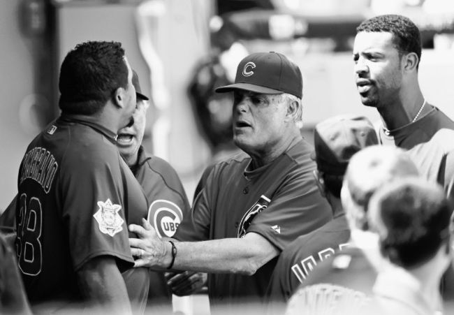 Just another Cubs-Sox game as Anthony Rizzo, John Lackey jaw in dugout | Chicago Sun-Times