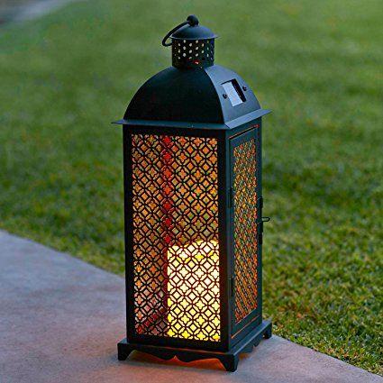1000 id es propos de lanternes solaires sur pinterest lampes solaires l - Lanterne pour terrasse ...