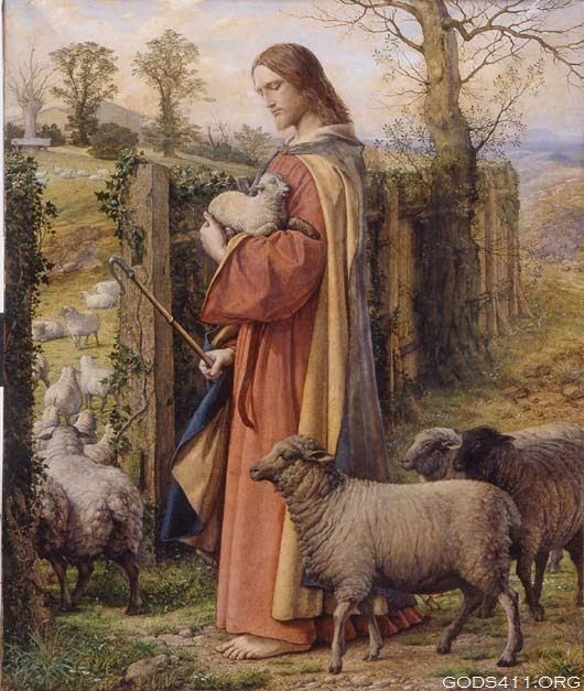 Jesus Shepherd- till all the sheep are back in the fold...
