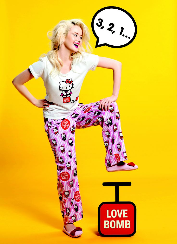 50 Shades of Kitty Pant and Love Bomb Kitty Tee