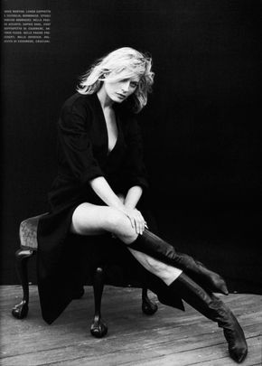 Annie Morton by Peter Lindbergh