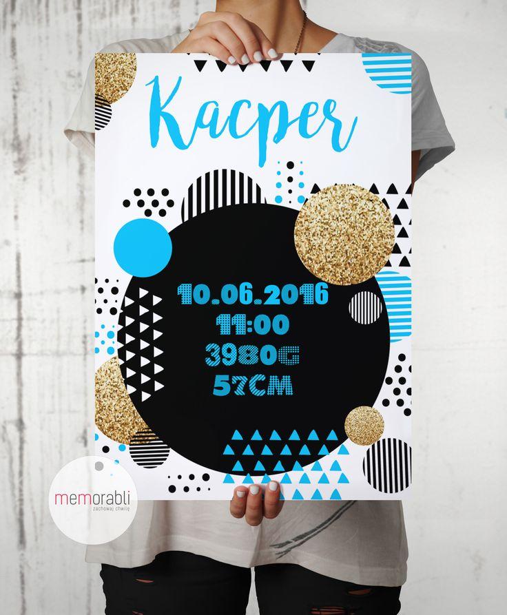 Metryczka / Plakat dla dziecka #plakat  #prezent #na #Ścianę #grafika #obrazek #dla #dziecka #pokój #pamiątka #handmade  #poster  #baby #pokojdziecka #memorabli #birthannouncement #babyroom #plakatydladzieci