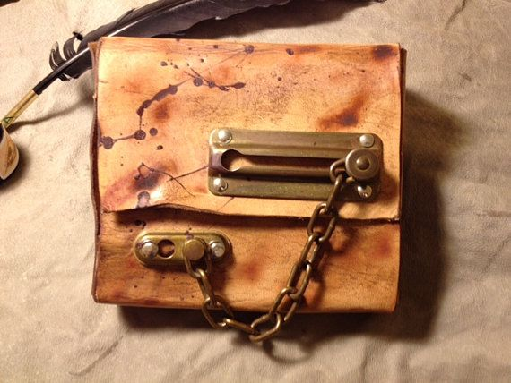Hunter's steampunk bag by RhapsodicalHats on Etsy, $70.00