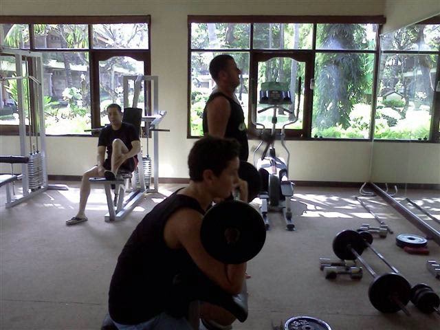 Fitness center at Club Bali Legian