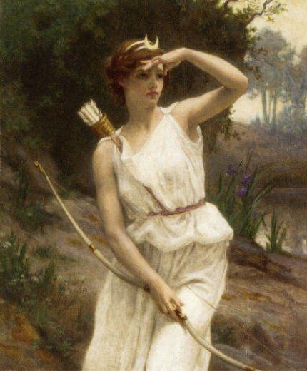 Diana the Huntress    Guillaume Seignac