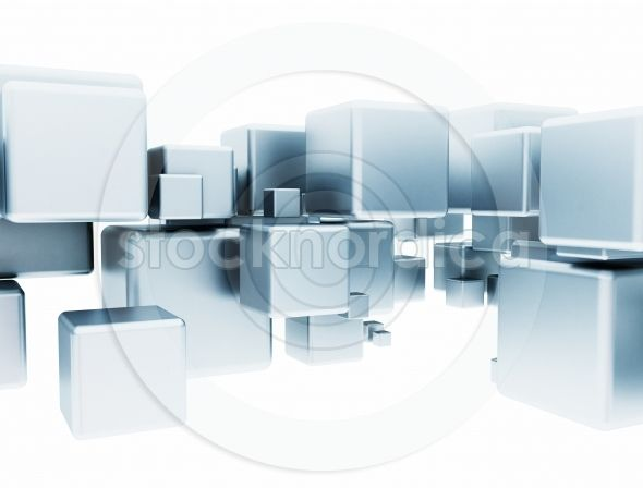 3D abstract aluminium cubes. http://www.stocknordica.com/image/3d-abstract-aluminium-cubes/
