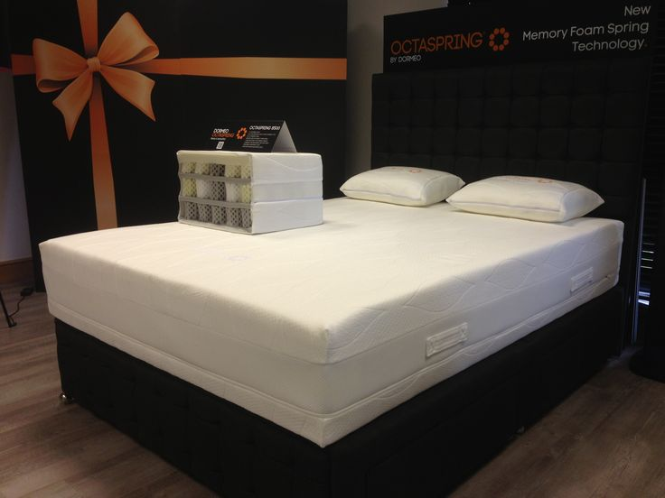 An Octaspring 8500 Mattress In Our Showroom This Thing Brings You Unbelievable Comfort And Is 9x More Breathable Than Traditional Memory Foam Mattresses