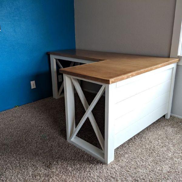 My Fancy X Desk Ana White