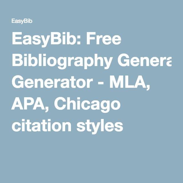Mla format generator for essay