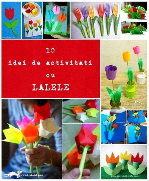 lalele, 10 idei de activitati practice