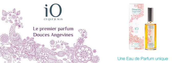 IO Eau de Parfum Douces Angevines 100% naturelle