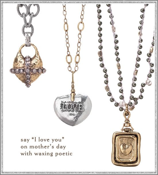 Love theses necklaces from Waxing Poetic. Me too!  I shop at Ambrosia in McKinney.