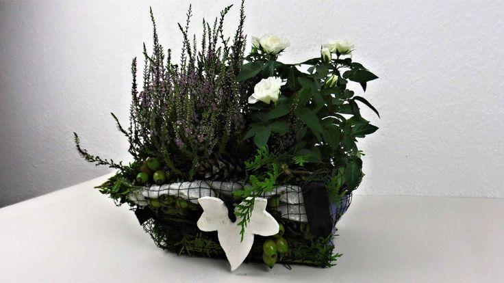 92 best images about grabschmuck on pinterest funeral - Deko ideen herbst ...