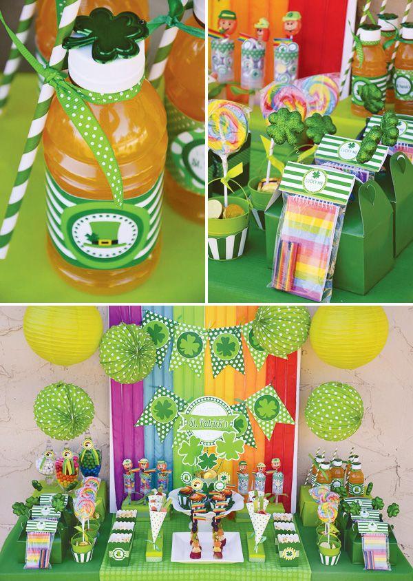 Kids St. Patricks Day Party Ideas {+ FREE Printables!}