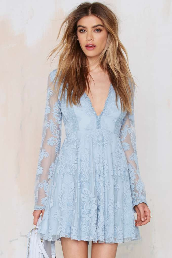 Romantics Lace Dress | Shop Clothes at Nasty Gal!