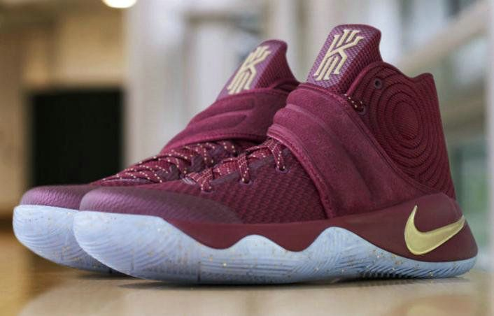 uk availability b25dc 61fac Nike Kyrie 2 2017 2018 Daily NIKE KYRIE WEARS GOLD RED ...