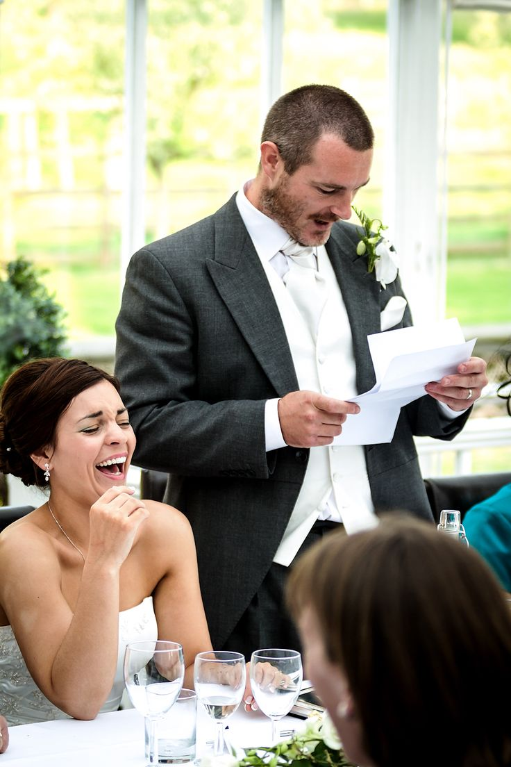 Giving a wedding speech doesn't need to be terrifying, even for the groom!  http://www.easyweddings.com.au/blogs/easy-weddings-blog/easy-peasy-how-to-write-a-grooms-wedding-speech/ #weddingspeech #groom #speech Image One Love/Nottingham Wedding Photographer