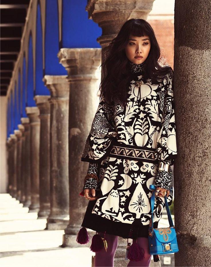 Somewhere in Mexico... : Ji Young Kwak for Vogue Korea November 2014 by Alexander Neumann