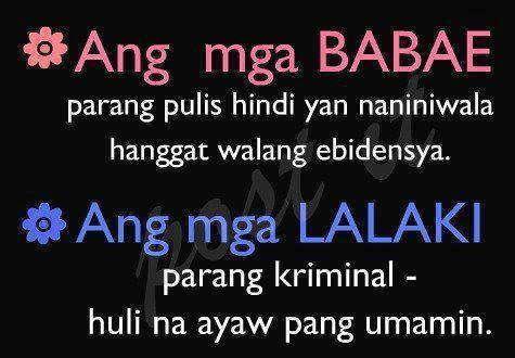 tama ba tristancafe tagalog qoutes pinterest fun