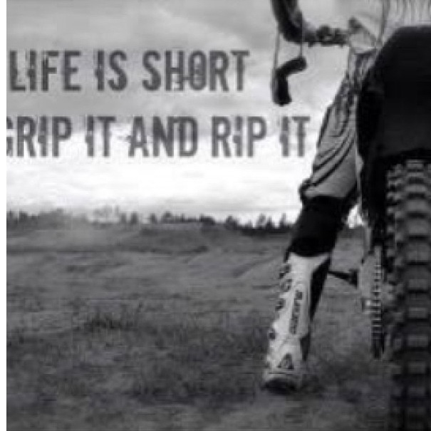 moto is life. life is short grip it, rip and shake it all the way to saddie with me? moto