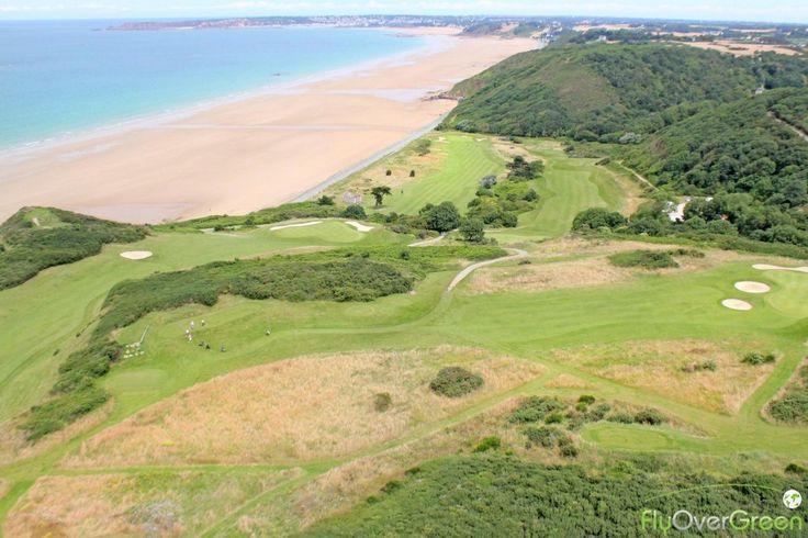 Golf De Pléneuf-Val-André, Côtes-d'Armor, Bretagne, France. Vidéo aérienne sur FlyOverGreen / Aerial video on FlyOverGreen