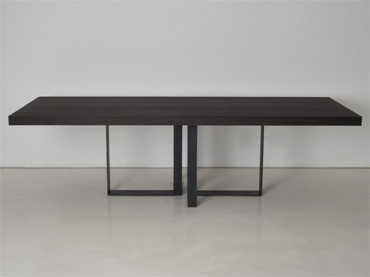 Wooden dining table ST MALO   Table - INTERNI EDITION