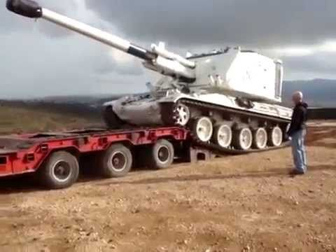 the wrong way to load a tank