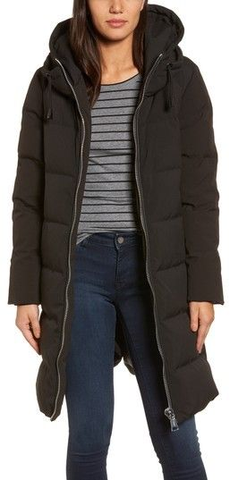 Donna Karan Women's Dkny Channel Quilted Puffer Coat