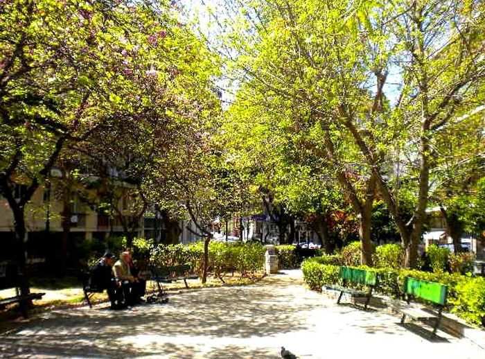 Η πλατεία Κυνοσάργους όπως είναι σήμερα
