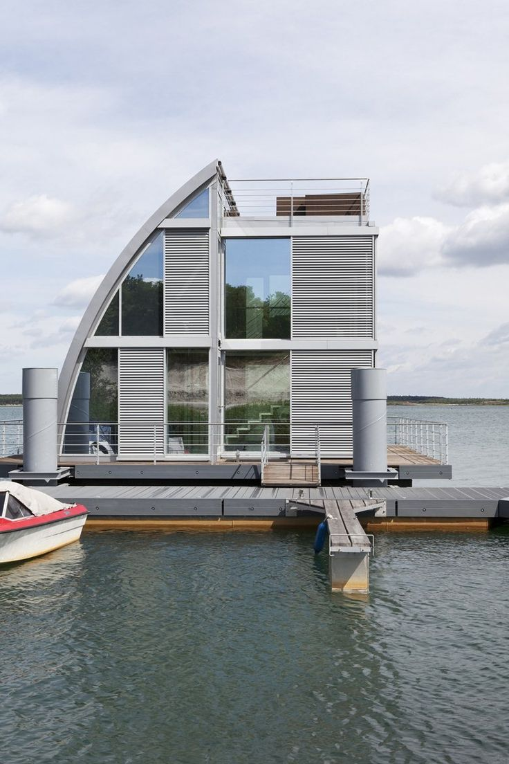 Floating House, Elsterheide, 2012 - steeltec37
