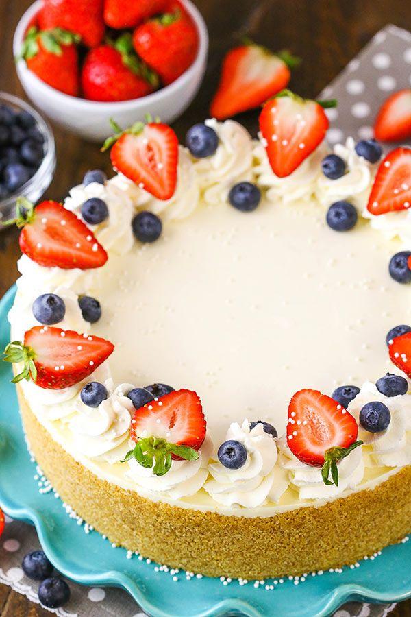 Best No Bake Cheesecake Recipe Best No Bake Cheesecake Cheesecake Recipes Cheesecake