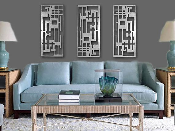 metal wall art art decor abstract contemporary by coldedgegallery 64500 - Metal Wall Designs