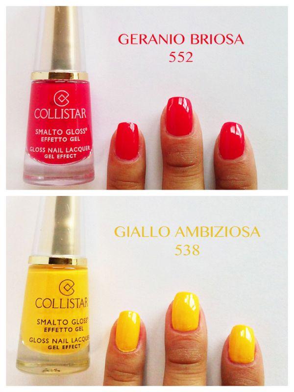 resistenza brillantezza colore pieno effetto semi permanente nello smalto collistar effetto - Coloration Semi Permanente Rouge