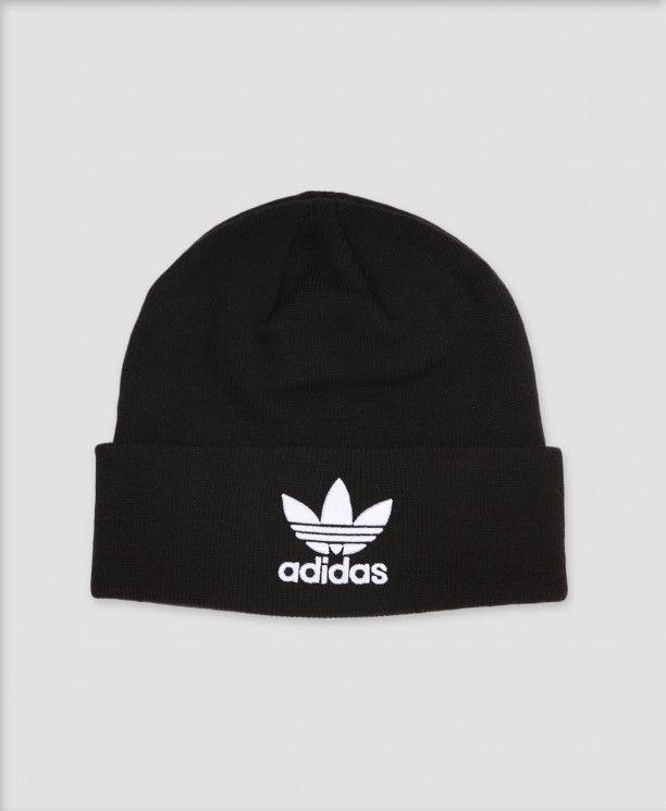 Adidas Black Trefoil Beanie (ORIGINAL)  fashion  clothing  shoes   accessories  mensaccessories  hats (ebay link) 2362b755d93