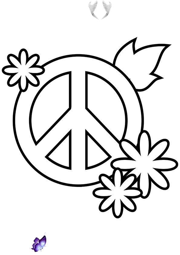 Simple And Attractive Free Printable Peace Sign Coloring Pages Art Hearty Simple And Attractive Free Printable Peace Sign Coloring Pages Art Hearty Br The I 2020