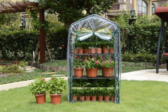 Minidrivhus med tre hyller - Mer enn hage