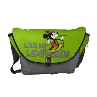 Love My Lederhosen! Messenger Bag