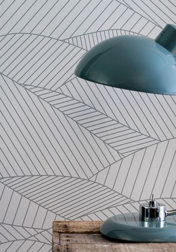 South Downs Wallpaper - Heron Grey | Bold&Noble