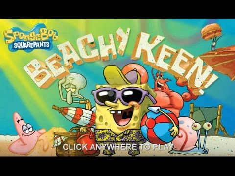SPONGEBOB GAMES BEACHY KEEN GAME