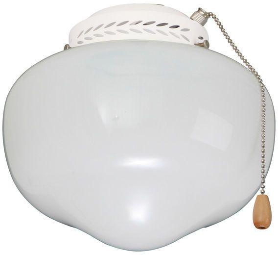 Emerson Fans Schoolhouse Globe Light Kit Damp Location Ceiling Fan