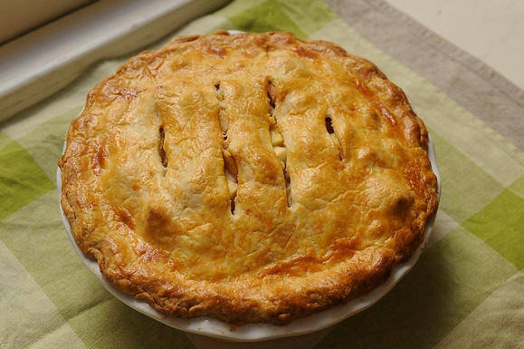 Brown Butter and Cheddar Apple Pie | Food | Pinterest