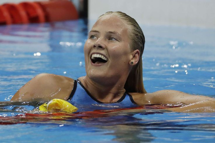 Michelle Coleman (natation, Suède) : JO 2016 : les plus belles et les plus beaux…