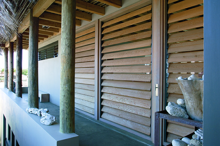 Piet Boon Styling by Karin Meyn | Wooden shutters; a natural feeling