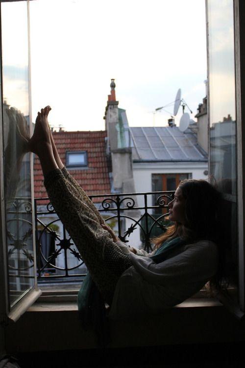 """bohemianhomes: """" Bohemian Homes: relaxing in paris """""""