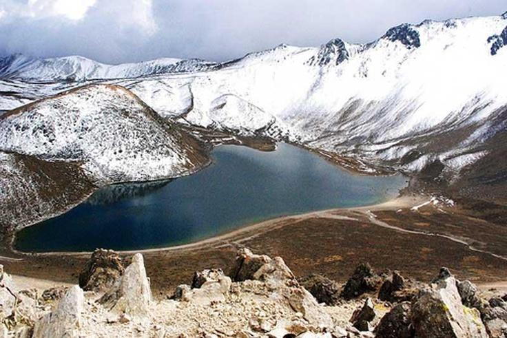 Edo Mexico Toluca Parque Nevado de Toluca Laguna del sol