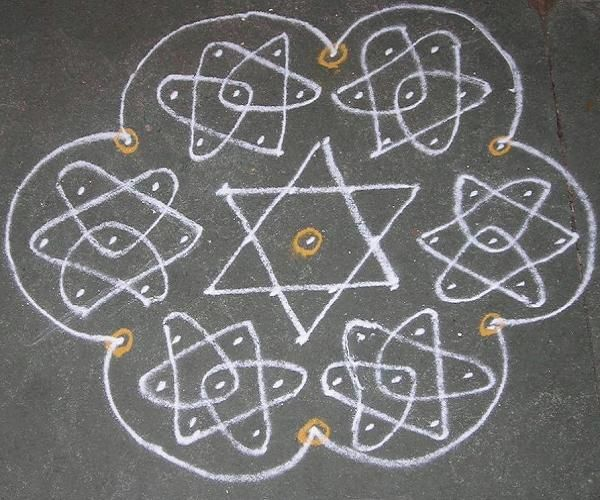 Kolam Designs and Images for Pongal
