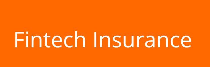 Fintech insurance