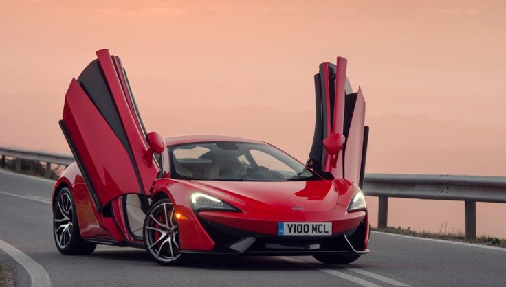 McLaren 570S Coupe | 10 of the Sexiest Modern Cars in Red